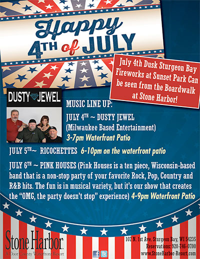 4th of July • Join Us!