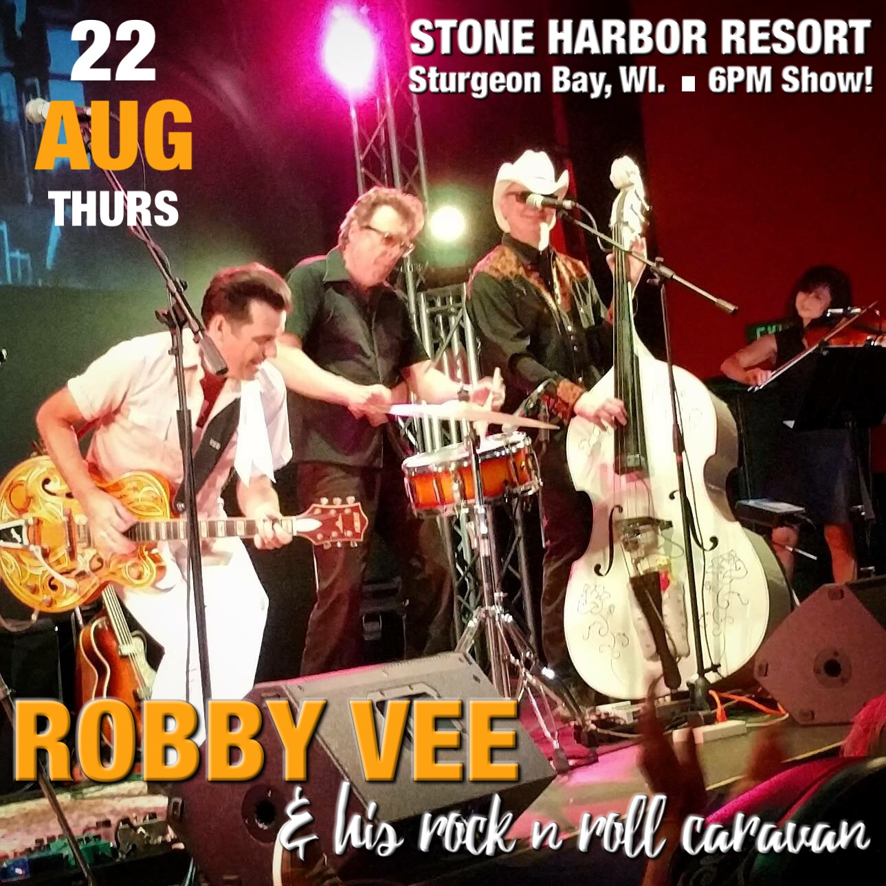 robby vee,stone harbor, live music