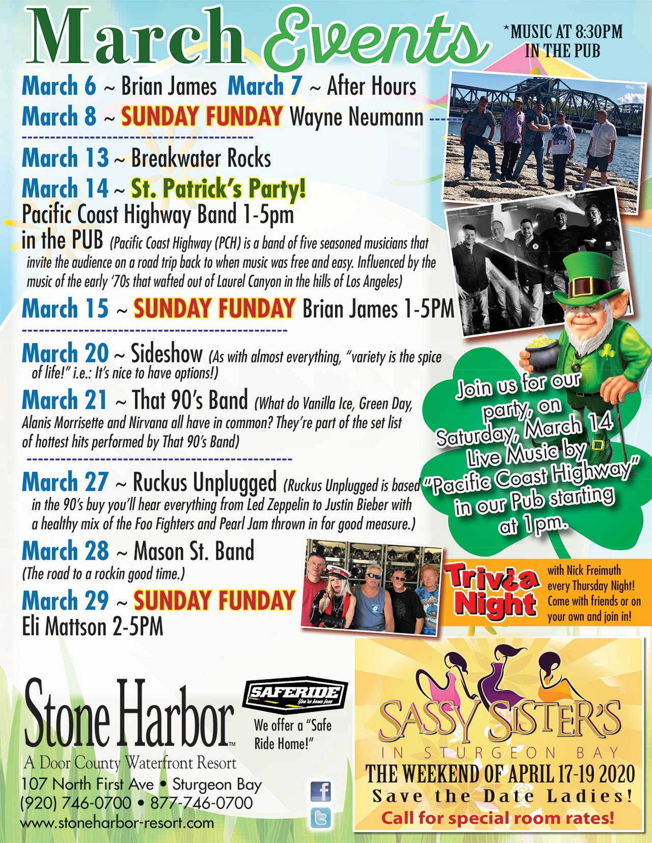 march events,things to do in door county,lodging near me,door county lodging,door county events