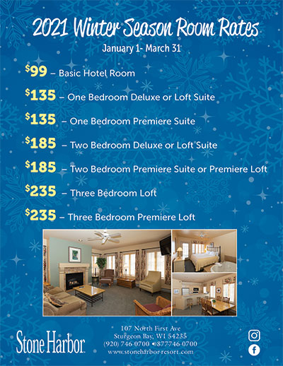 winter season lodging rates,door county lodging,door county hotels, door county resorts,door county motels