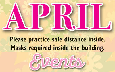 April Events & Live Entertainment